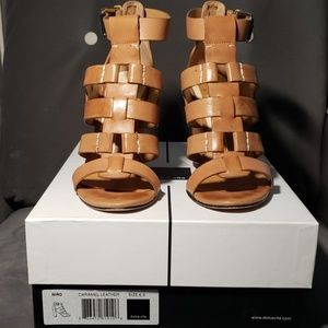 Dolce Vita Niro Caramel leather sandal